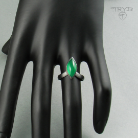 Green ring hand made
