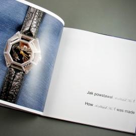 Książki o zegarkach.
