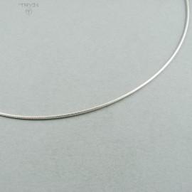Linka usztywniana ze srebra 40cm