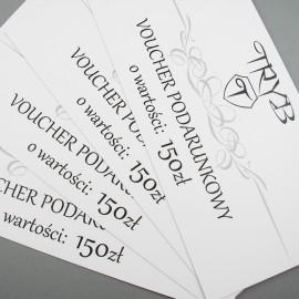 Voucher podarunkowy na biżuterię artystyczną o wartości 150 zł