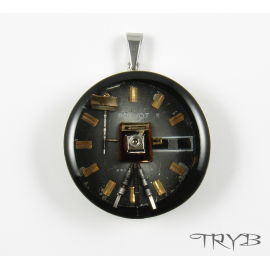 Retro photo camera pendant
