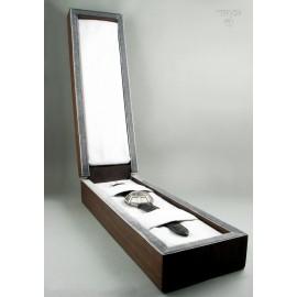 Ręcznie robione pudełko do ręcznie wykonanego zegarka - dzieła sztuki