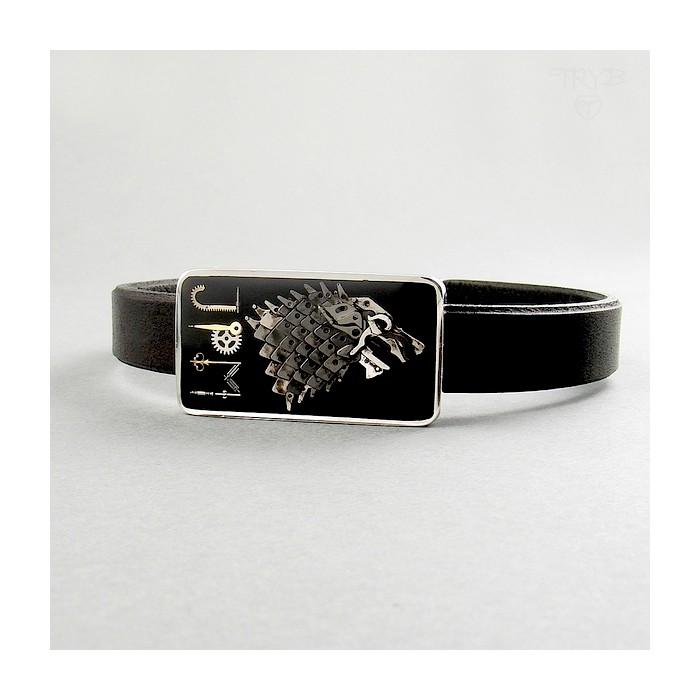 Oryginalna, srebrna bransoleta męska na zamówienie