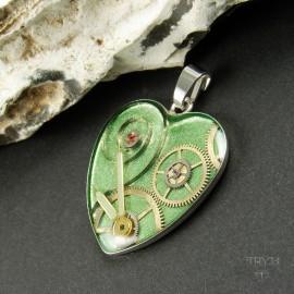 Steampunk heart jewelry