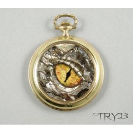 Smaug eye pendant