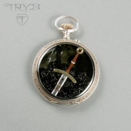 Miniaure Cirilla's sword Zireael in hand made pendant