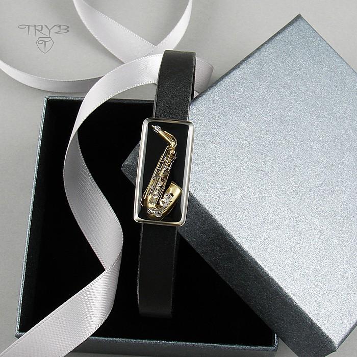 Men's Alto Saxophone Bracelet
