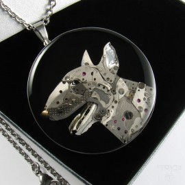 Unique Bull Terrier necklace