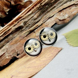 Studs with owls