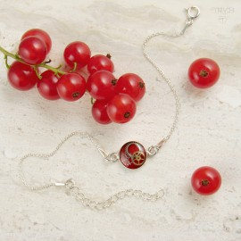Red celebrity bracelet from...