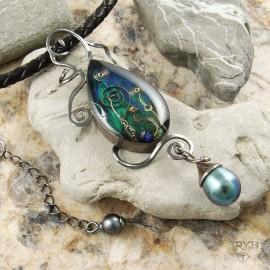 Biżuteria artystyczna z perłami