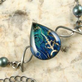 Art jewelry of watch parts