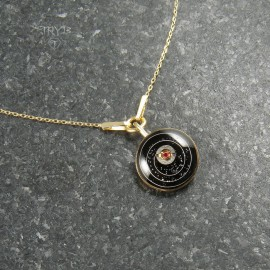 Space celebirty necklace of gold