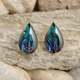 Sea inspired earrings