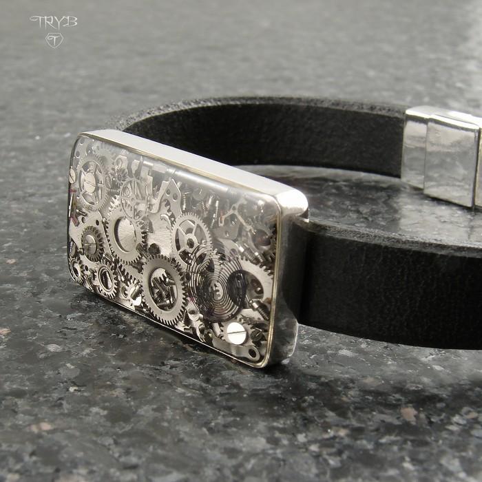 Industrial men's bracelet