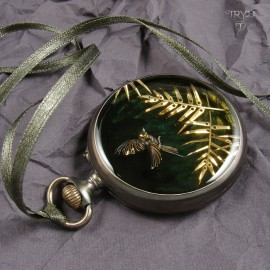 Palm leaves necklace