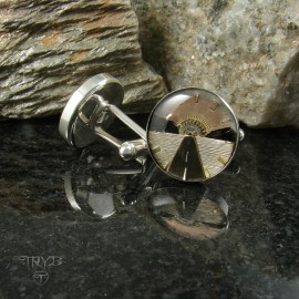 Journey motif cufflinks