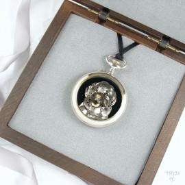 Miniature sculpture of watch parts