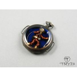 Take the last deep breath - Unique diver pendant