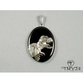 Unique Tyrannosaur pendant