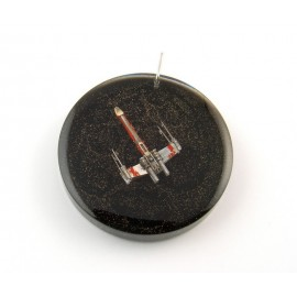 X-wing pendant of watch parts
