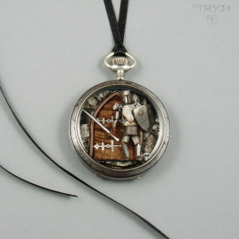 Knight pendant