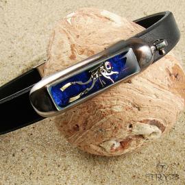 Ręcznie robiona męska bransoleta z nurkiem