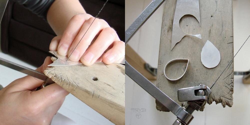 Goldsmith artist handmade sterling silver jewelry