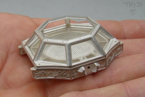 Sterling silver watch case