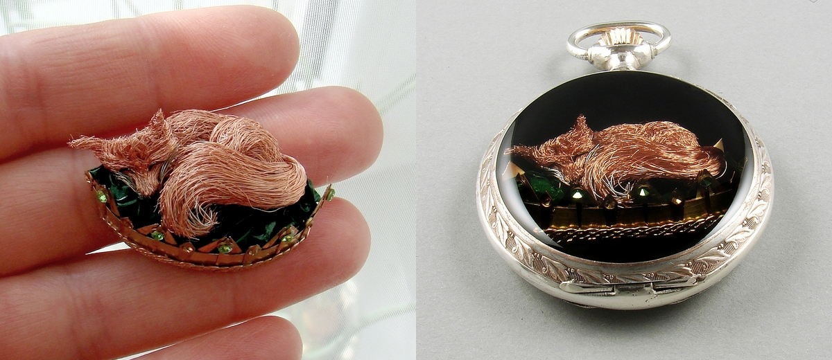 exclusive fox pendant - quality custom made jewelry - artsistic jewelry for order