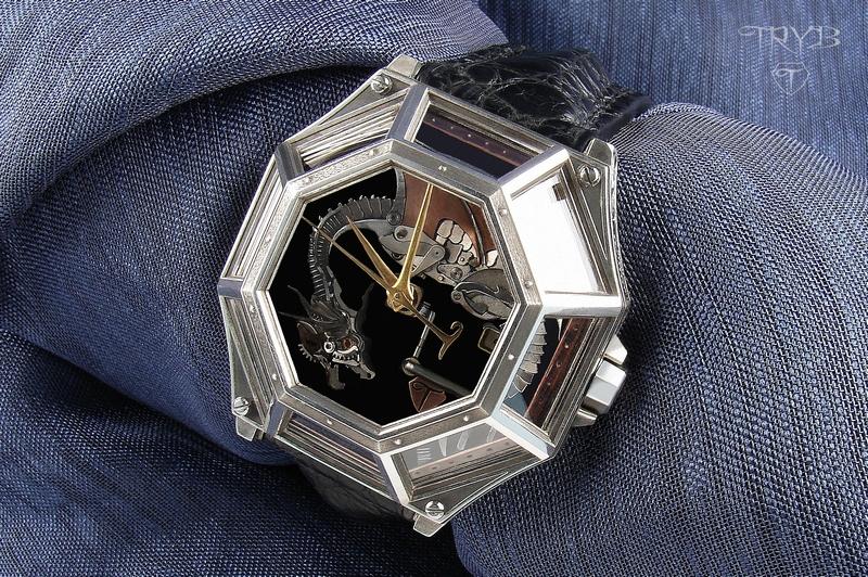 ArtWatch No 1 - unique Watch made as a single item.